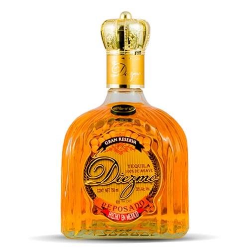 Tequila Reposado El diezmo